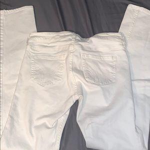 🤩SALE🤩NWOT White Hollister Skinny Jeans